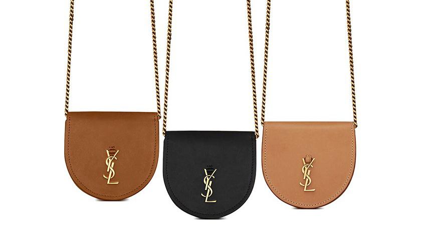 「缩小版」Kaia Bag,SAINT LAURENT 推出新款迷你包袋