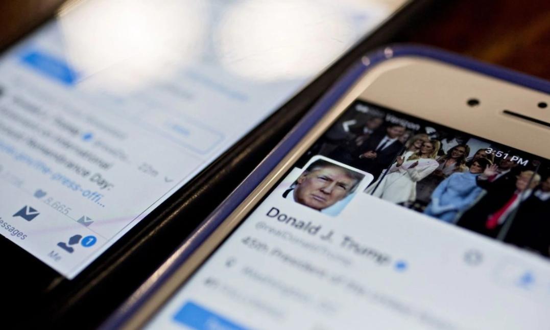 Twitter、Facebook 冻结唐纳德·特朗普账户