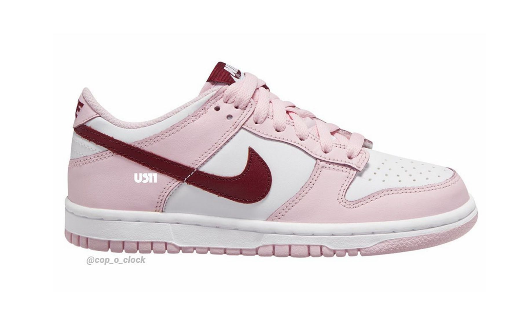 情人节惊喜,Nike Dunk Low「Strawberry Pink」首度亮相