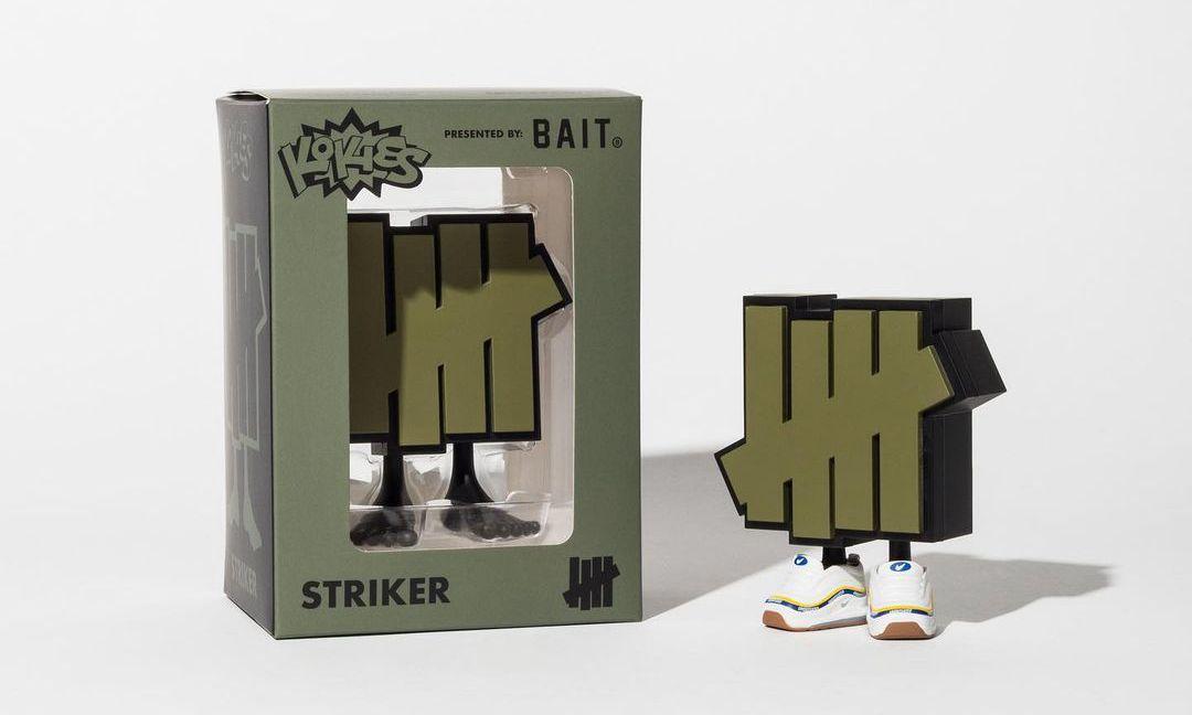 UNDEFEATED 携手 Kokies 推出全新「STRIKER」玩偶