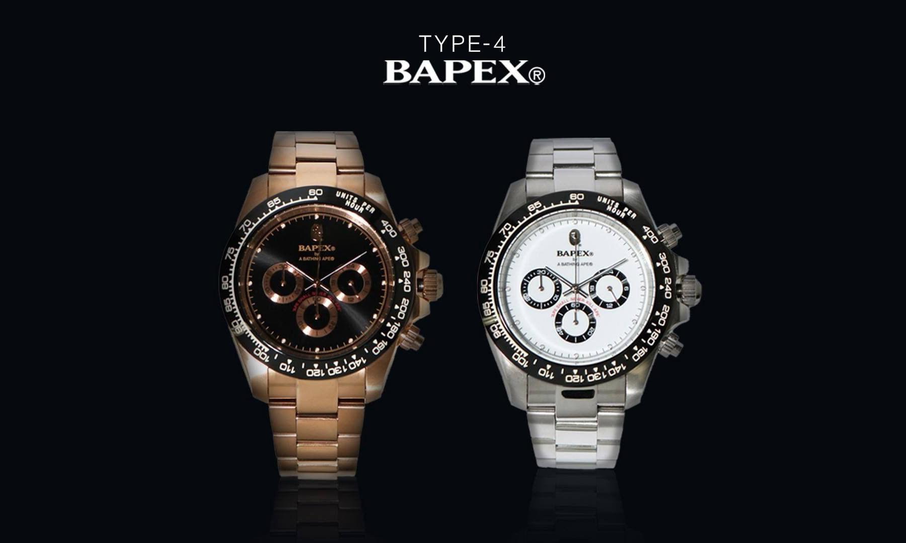 BAPE® 为 TYPE-4 腕表推出全新设计