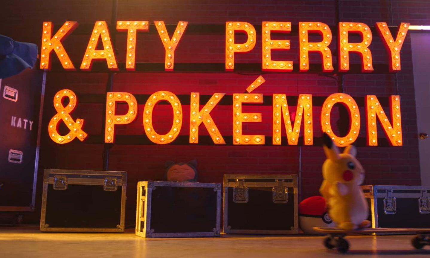 Pokémon 庆祝 25 周年与 Katy Perry 展开联动