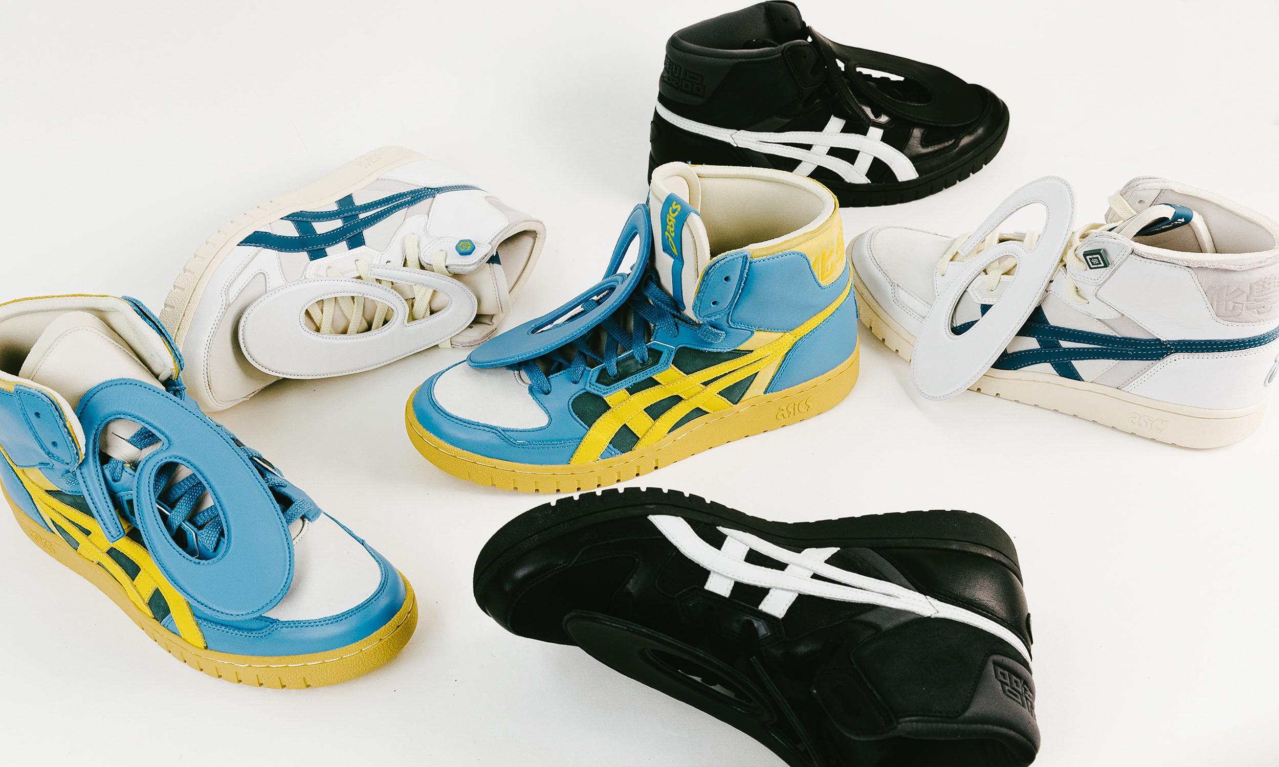 新鞋即将发售,化学制品和 ASICS 又合作了?