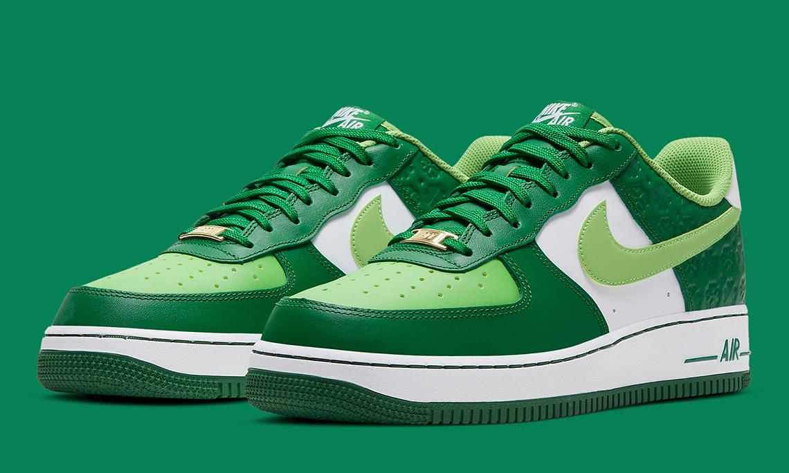 Nike 将为 St. Patrick's Day 推出 Air Force 1 以及 Air Max 90