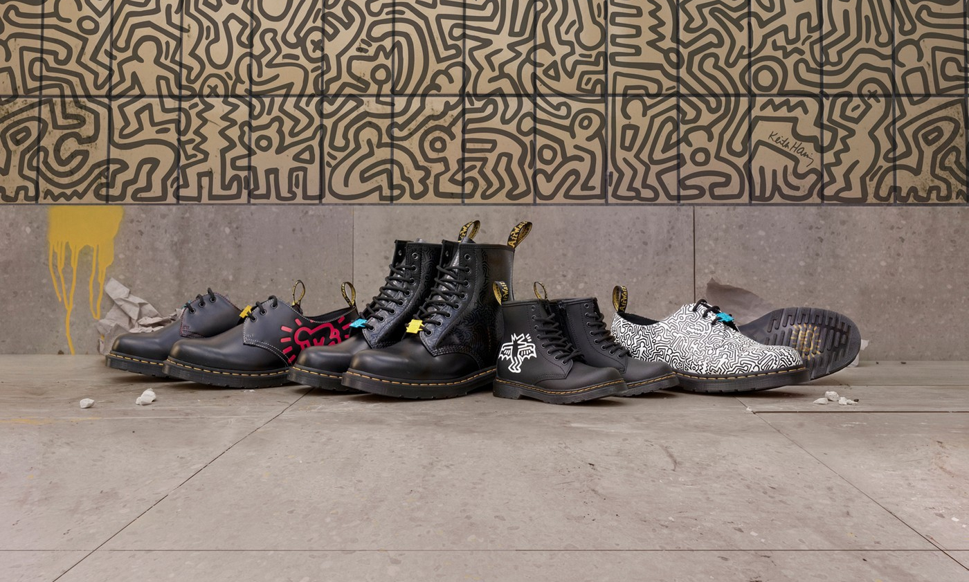 Dr. Martens 携手 Keith Haring 推出全新合作