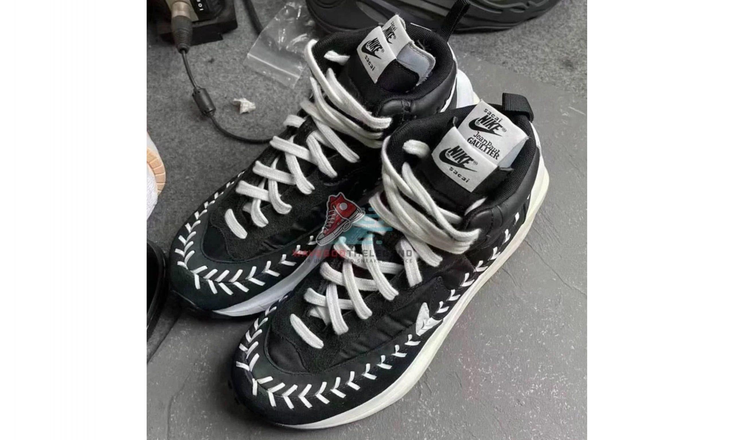 sacai x Nike x Jean Paul Gaultier 三方联名首度公开
