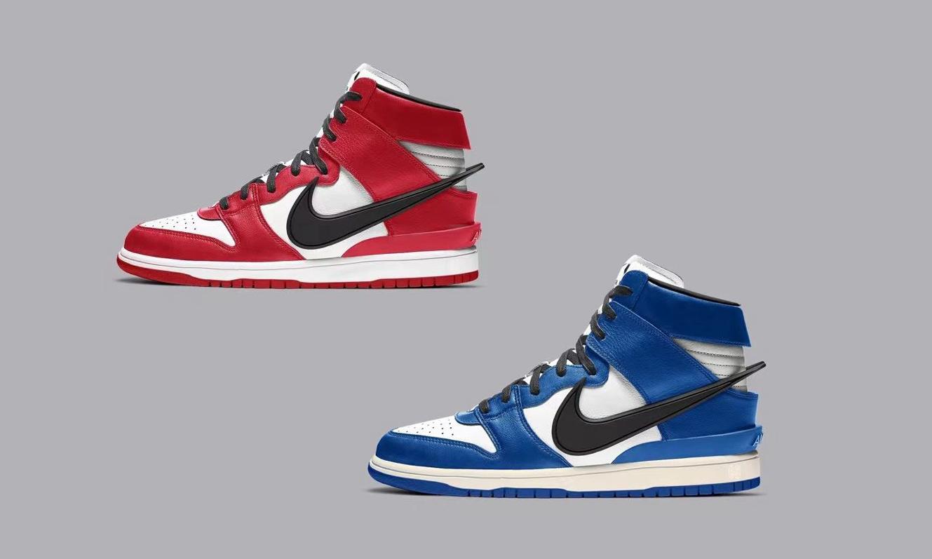 AMBUSH x Nike Dunk High 将推出全新配色