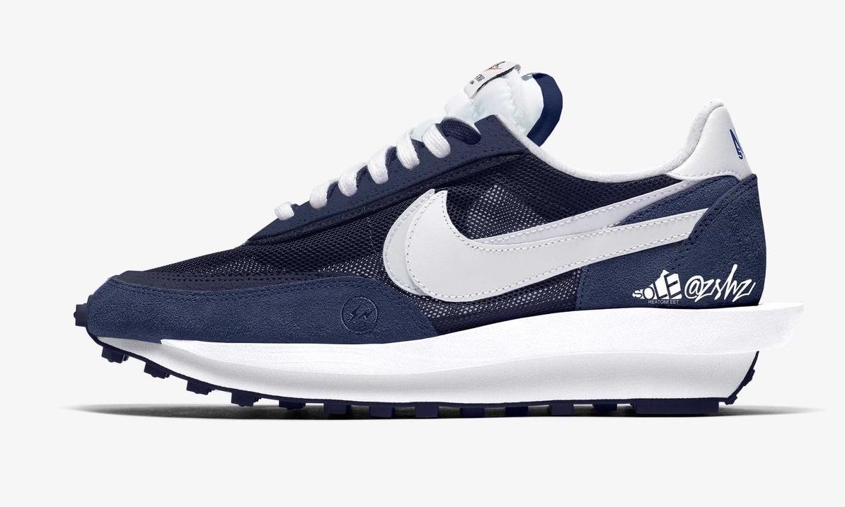 fragment design x sacai x Nike LDWaffle 将于春季发售