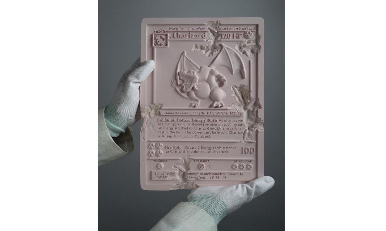 Daniel Arsham 释出最新作品「CHARIZARD CARD」