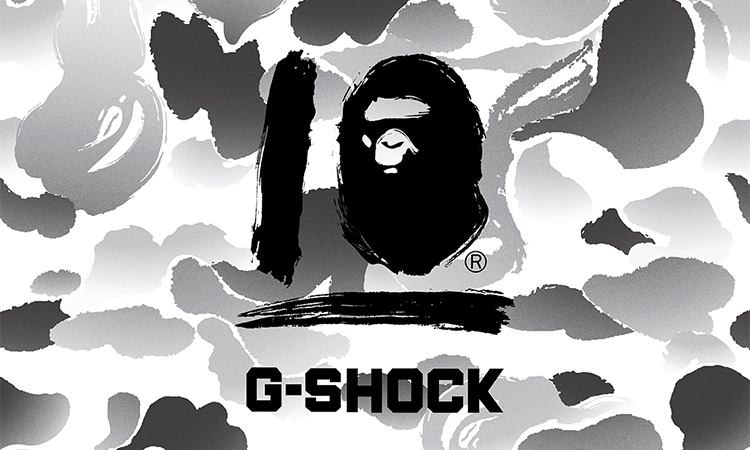BAPE® x G-SHOCK 推出全新联名