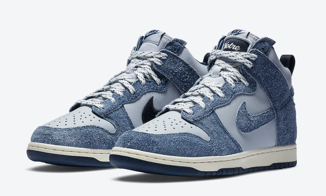 Notre x Nike Dunk High「Midnight Navy」官图释出