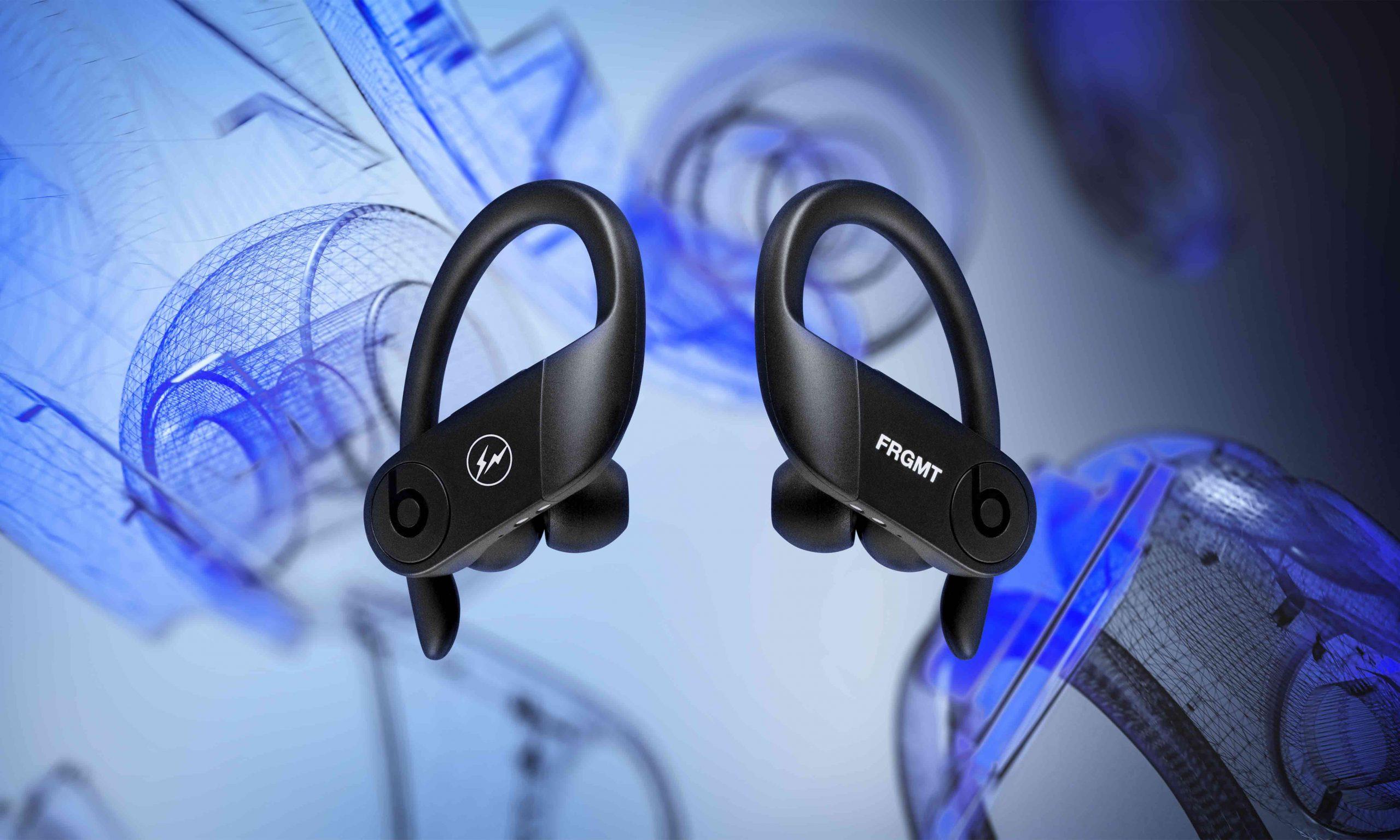 fragment design 以经典单色设计打造 Beats Powerbeats Pro 特别版耳机