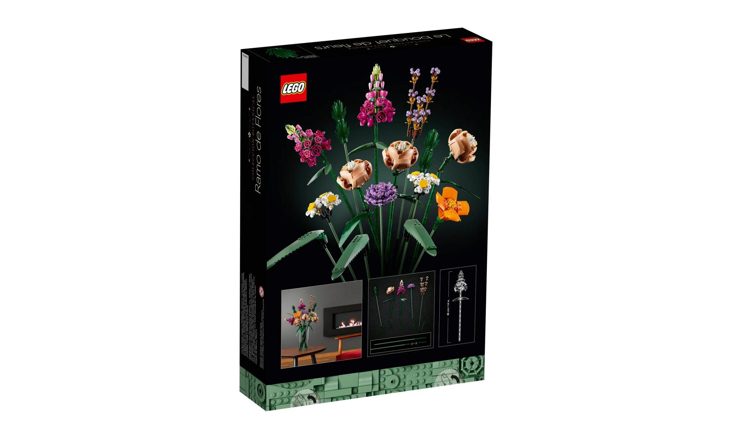 缤纷花卉绽放,LEGO 10280 Flower Bouquet 盒组登场