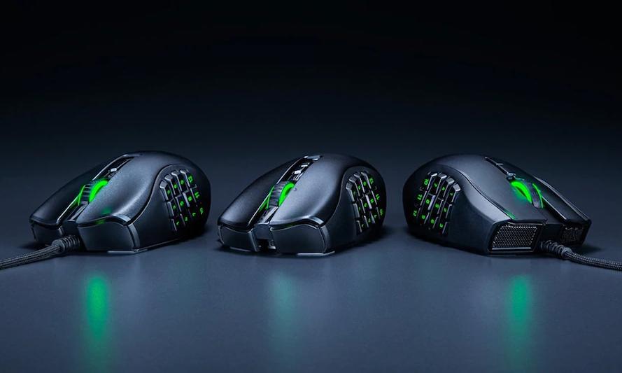 雷蛇针对 MMO 玩家推出 Naga X 游戏鼠标