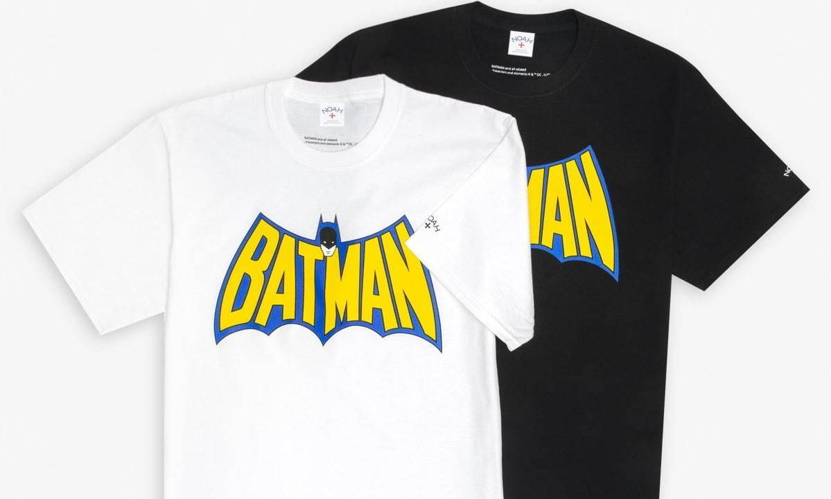 NOAH x Batman 联乘系列将于本月发售