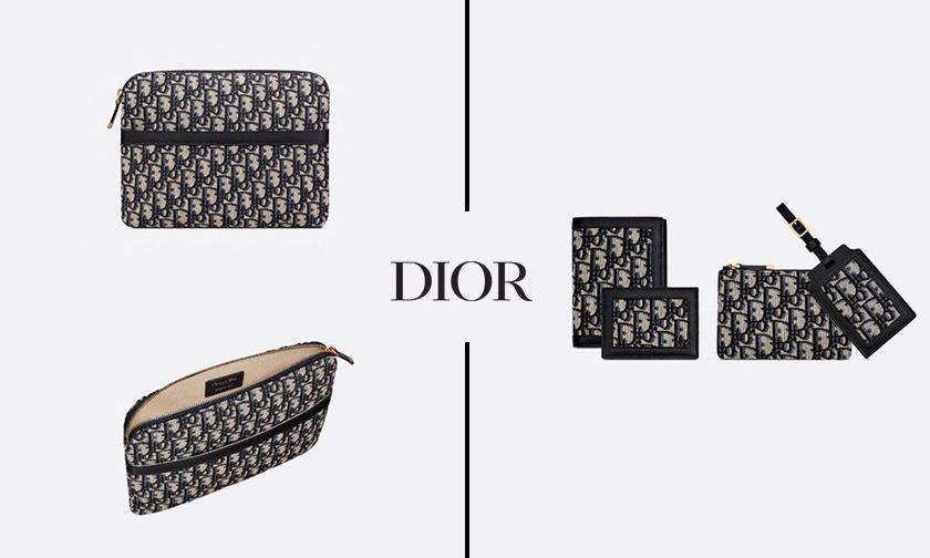 以「旅行」为设计灵感,DIOR 推出「5 合 1」老花包袋套组
