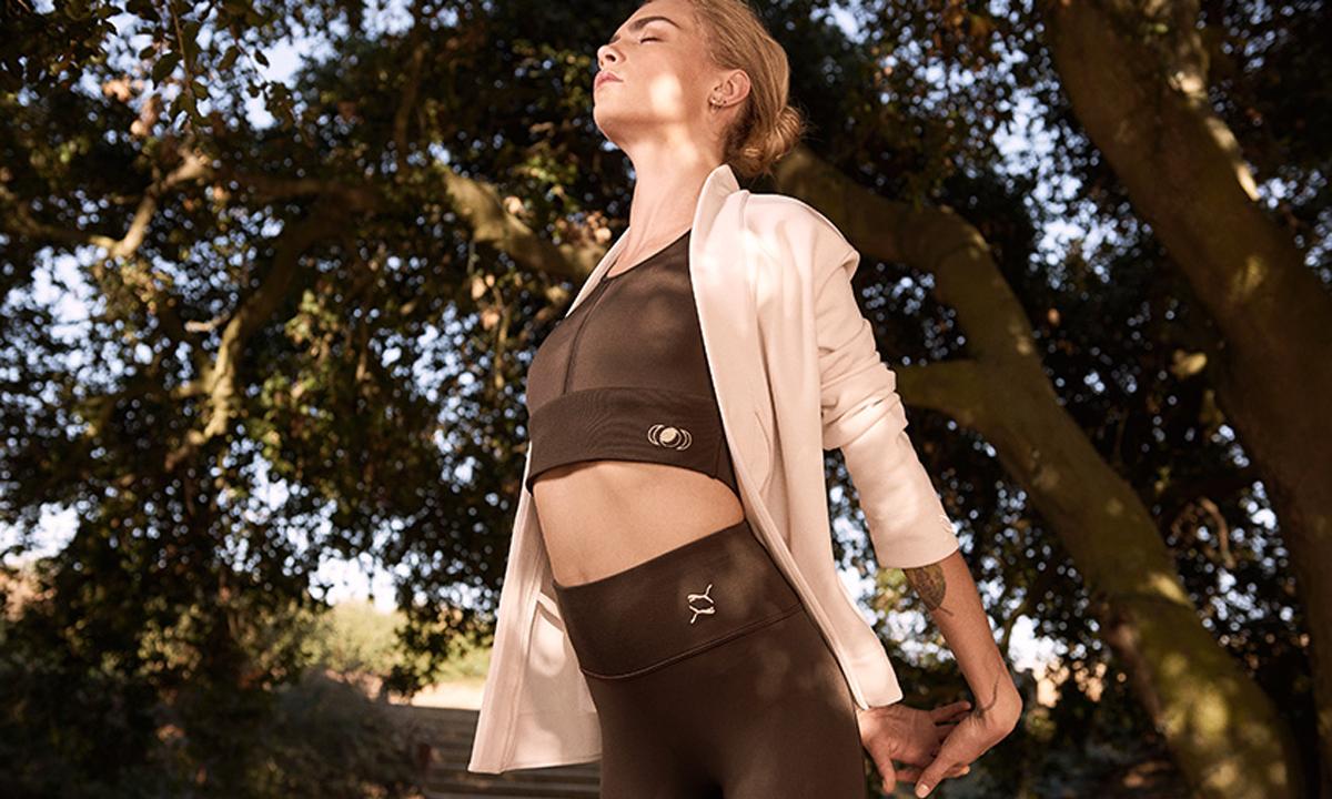 携手 Cara Delevingne,PUMA 释出联名瑜伽运动系列