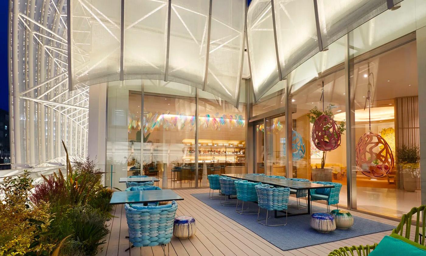 LV 全球首间咖啡厅在大阪正式开业