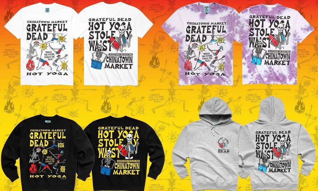 Chinatown Market x Grateful Dead 联乘胶囊系列发布