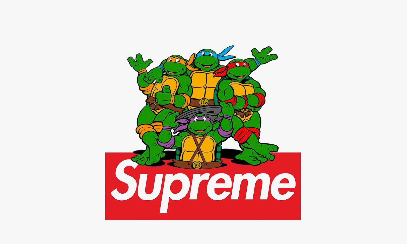 Supreme 将推出《忍者神龟》联名系列