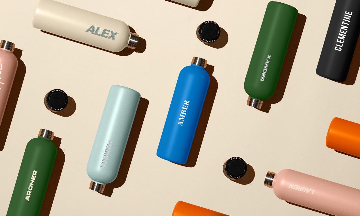 生活方式新单品,CASETiFY DIY 水杯系列发售