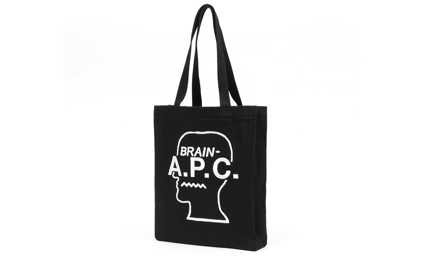 为慈善助力,A.P.C. x Brain Dead 发布联乘手提袋