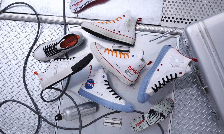 CONVERSE 推出 NASA 主题鞋款