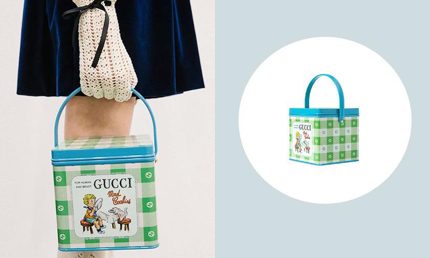 时髦糖果盒,GUCCI Mad Cookies 包袋正式上架