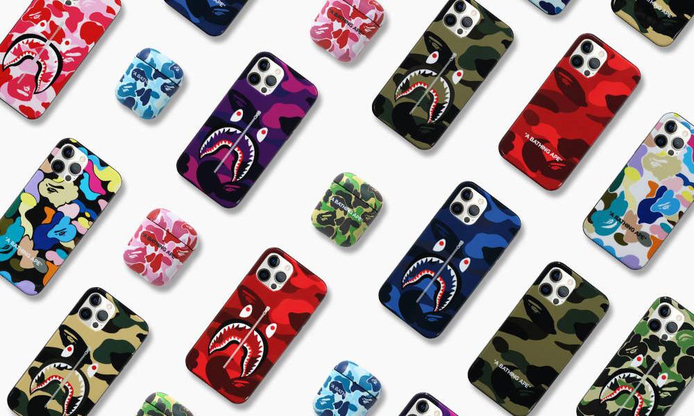 BAPE® 推出 iPhone/AirPods 保护套系列