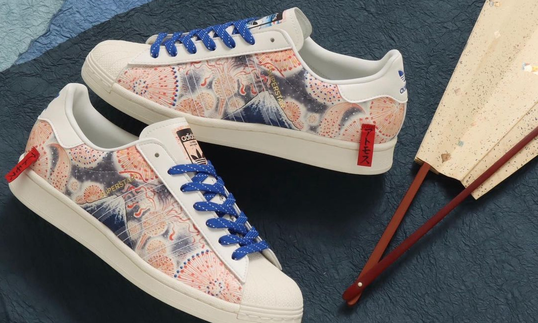 atmos x adidas Originals x Three Tides Tattoo 三方联名 Superstar 登场