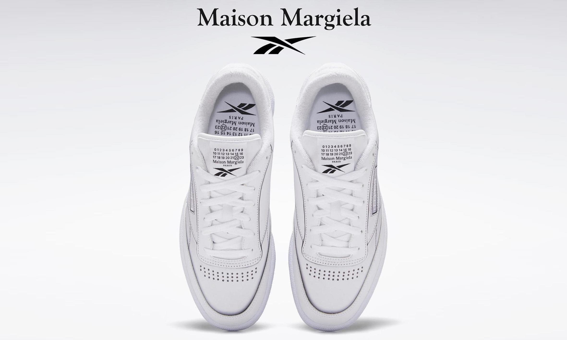 抢先预览 Maison Margiela x Reebok Club C 新设计
