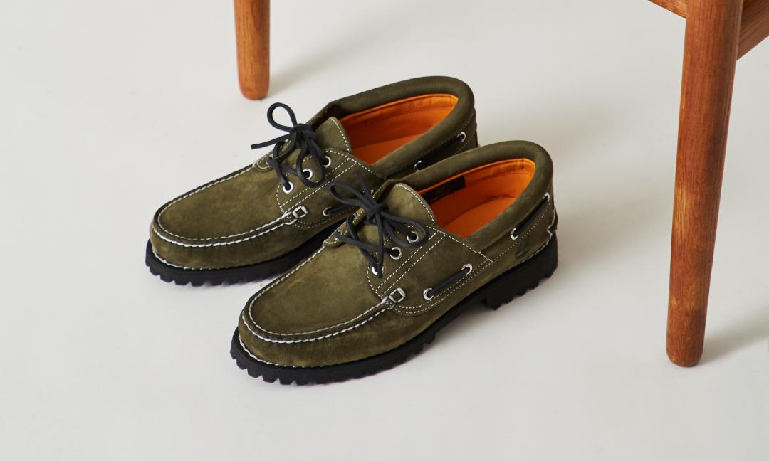 UNITED ARROWS 旗下三大品牌联合 Timberland 打造专属鞋款