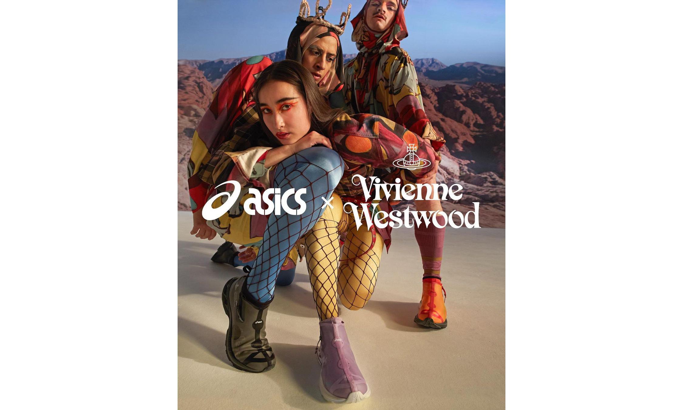 Vivienne Westwood x ASICS 全新 GEL-KAYANO27 LTX 联名即将开售