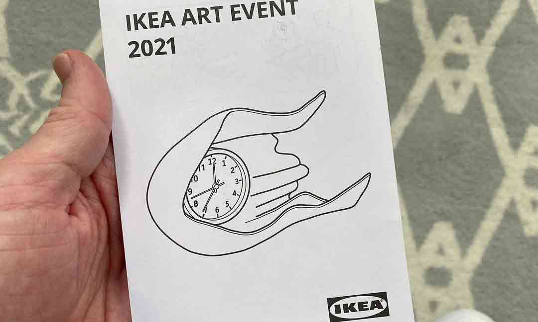 Daniel Arsham 亲晒 IKEA 联名钟表企划