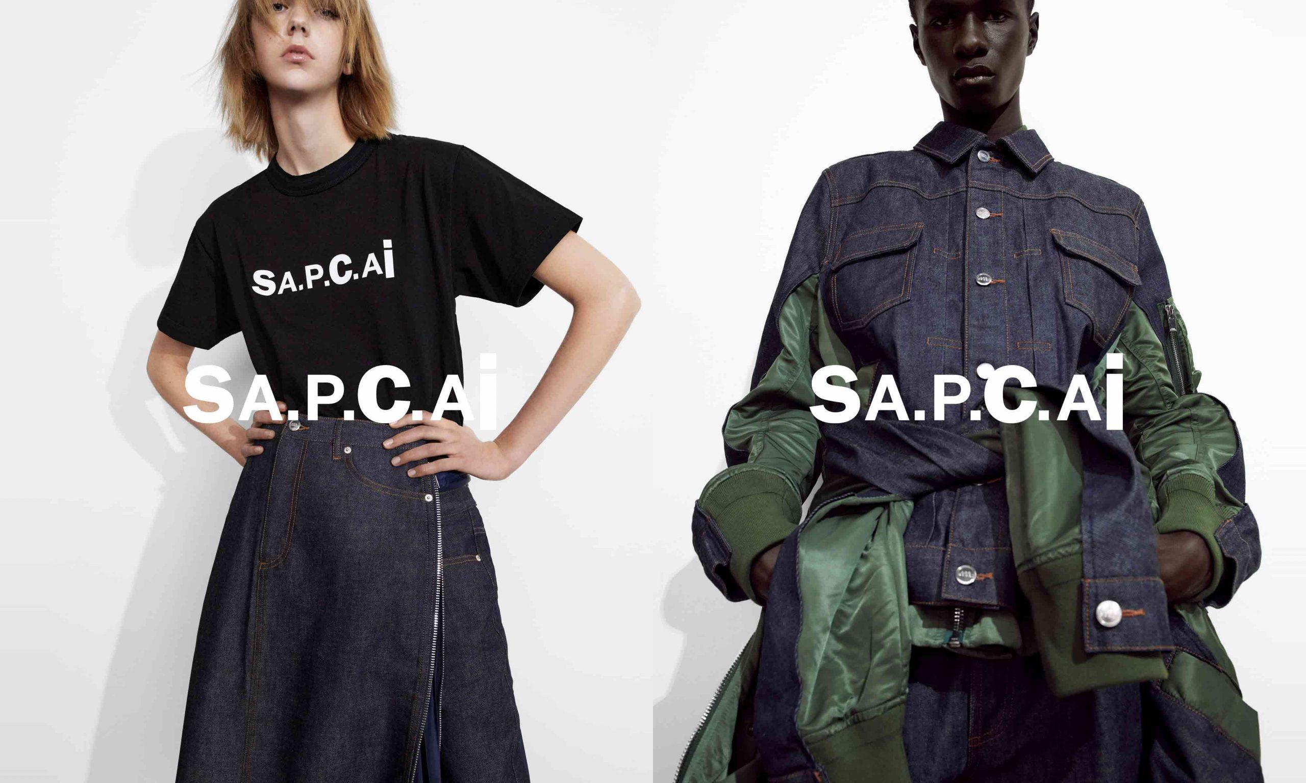 sacai x A.P.C.「INTERACTION #9」联名 Lookbook 及单品完整一览