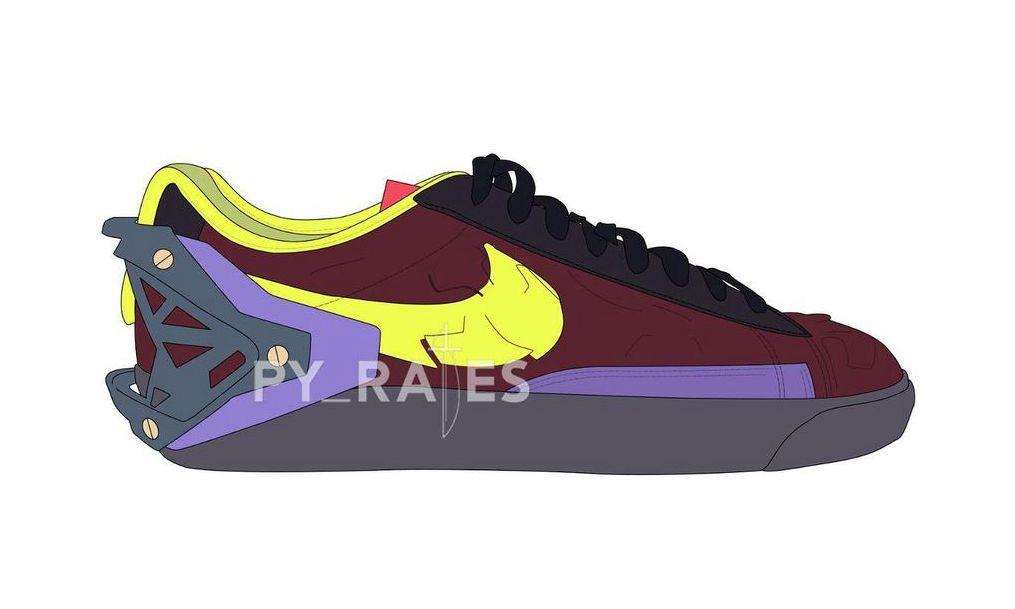 ACRONYM x Nike Blazer Low 联乘系列首度公开