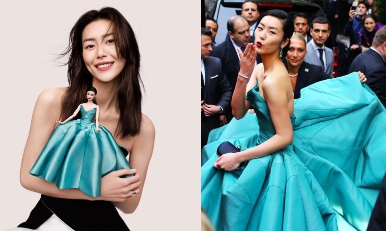 刘雯成为首个拥有芭比娃娃形象的亚洲模特