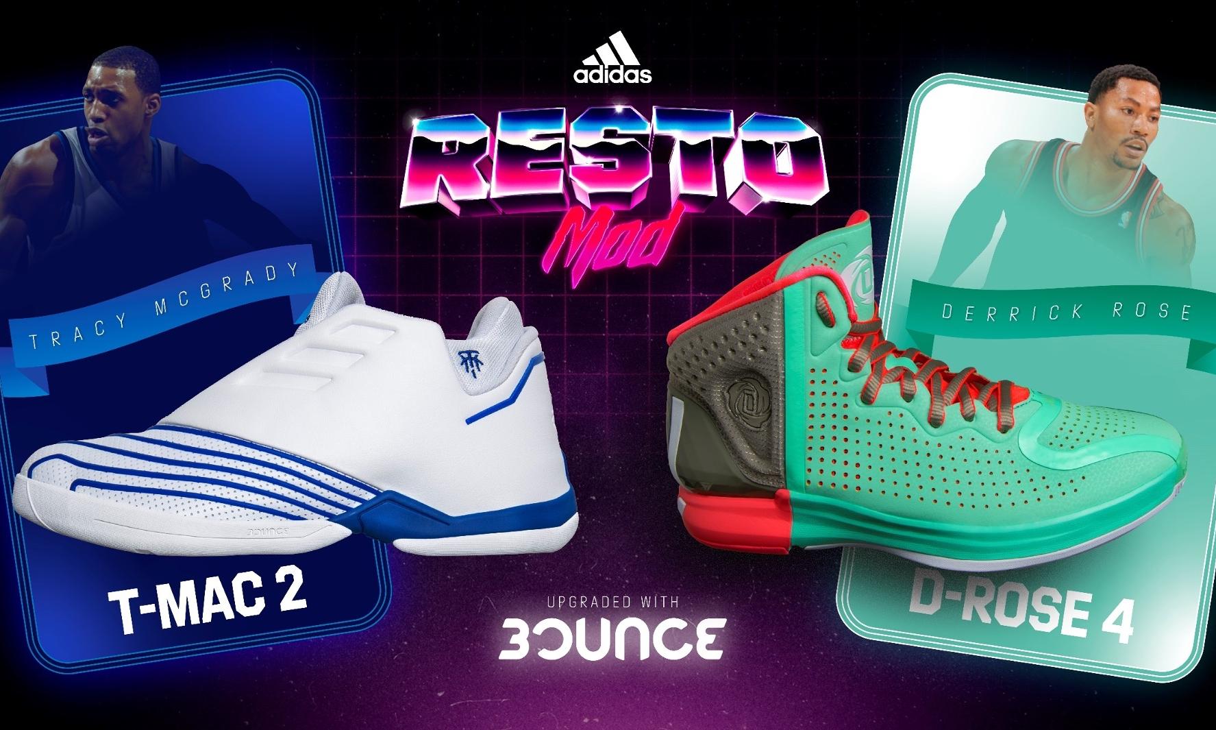 adidas Basketball 发售经典焕新系列篮球鞋