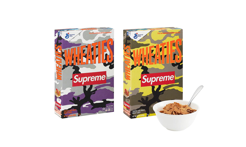 Supreme x Wheaties 麦片将在本周发售