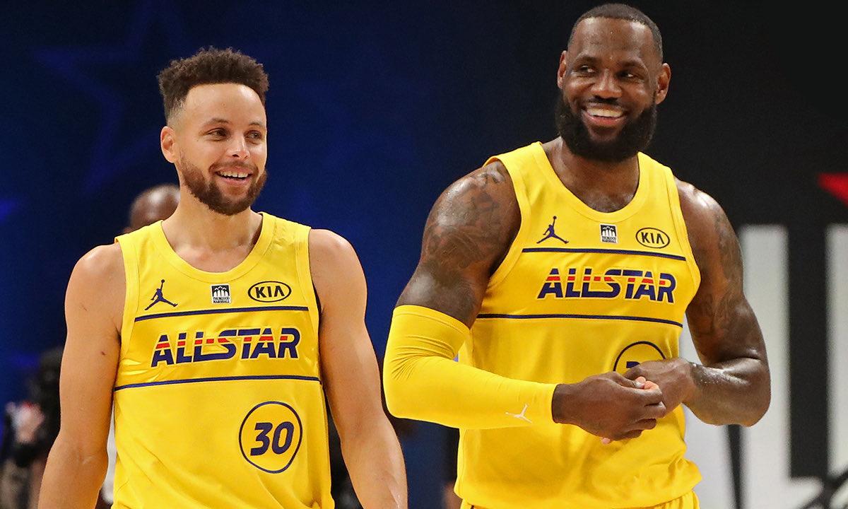 勒布朗队战胜杜兰特队,NBA 2021 全明星赛完美结束