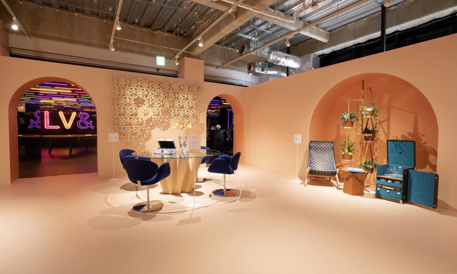 LOUIS VUITTON 大展「&」今日于东京开幕