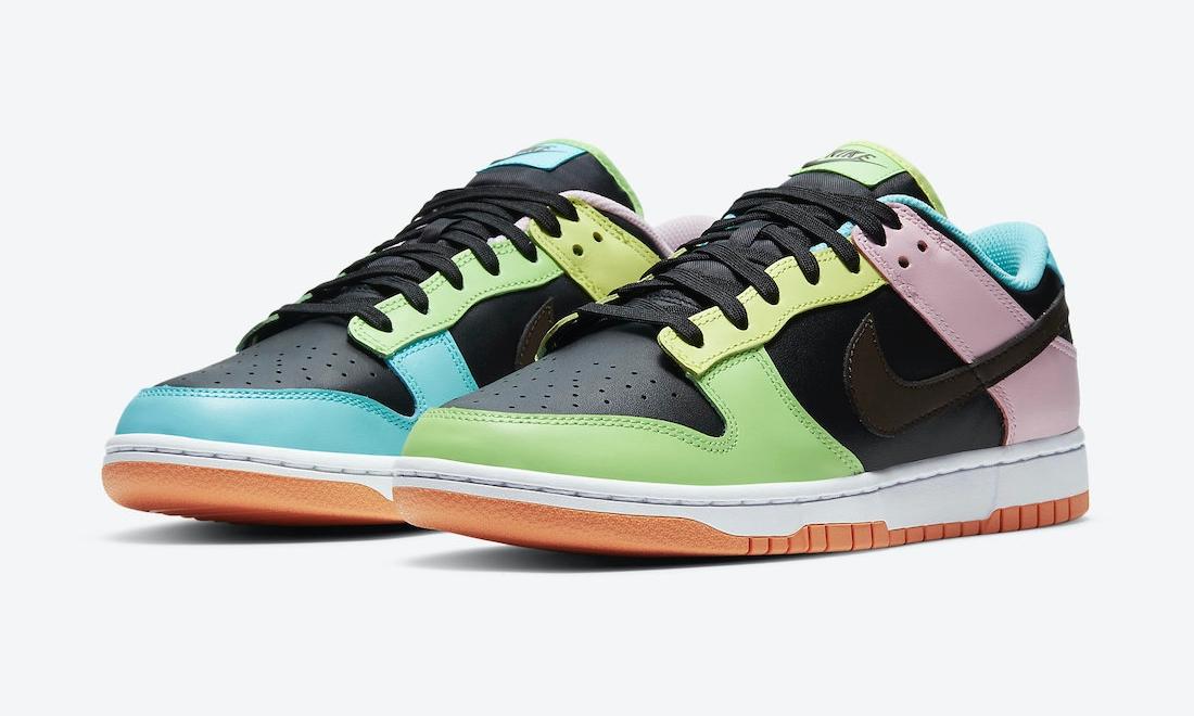 Nike Dunk Low「Free 99」官图释出