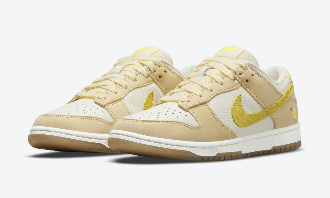 Nike Dunk Low「Lemon Drop」发售日期确认