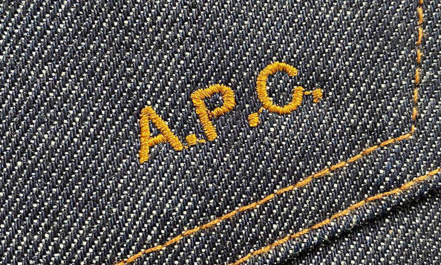 打造专属单品,A.P.C. 推出刺绣定制服务