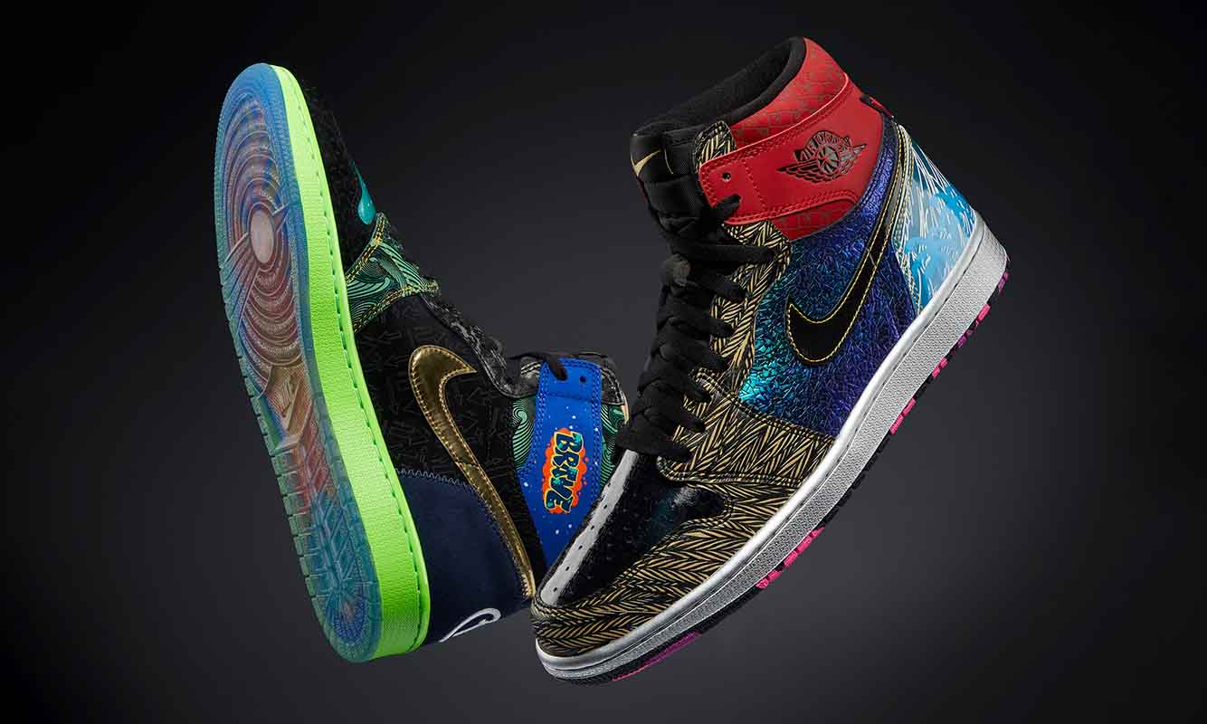 Doernbecher Air Jordan I「What The」拍卖共筹集 56 万美元