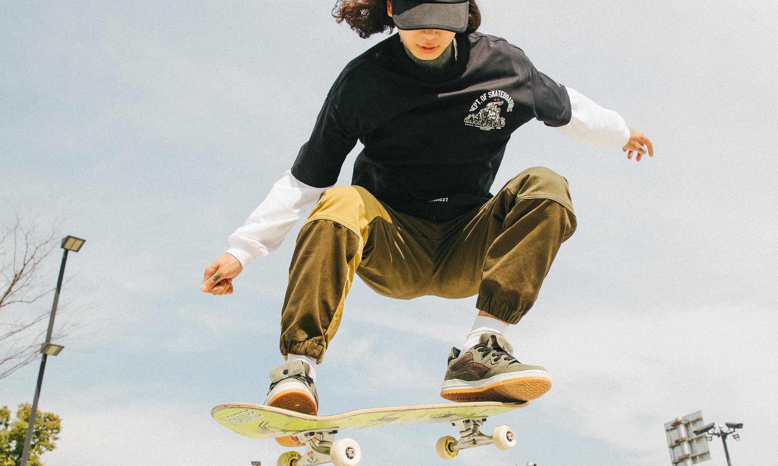 走进街头滑板文化,李宁交出了一份「革命」性的答卷