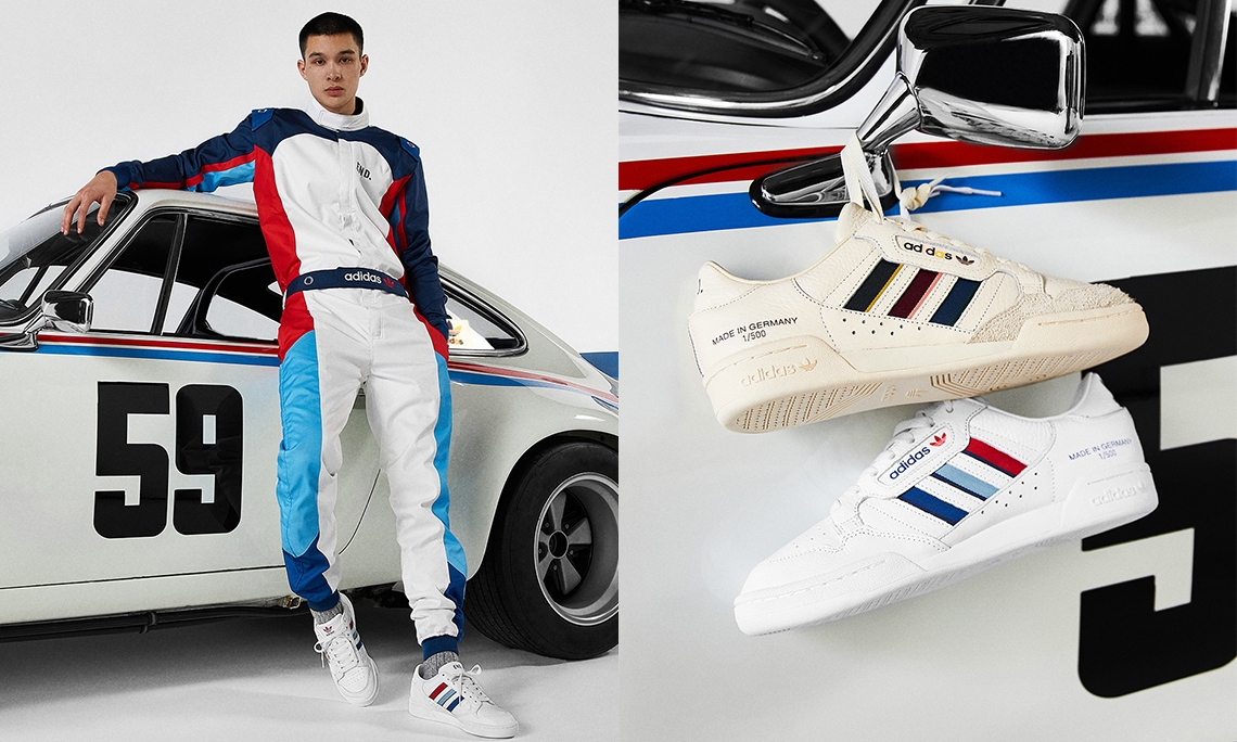 END. x adidas Continental 80「German Engineering」即将发售