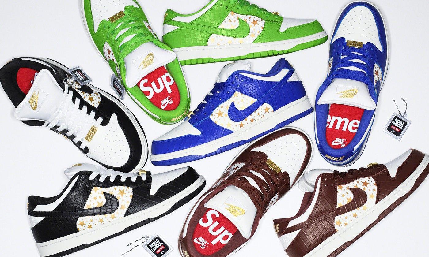Supreme x Nike SB Dunk Low 将不会通过 SNKRS 发售