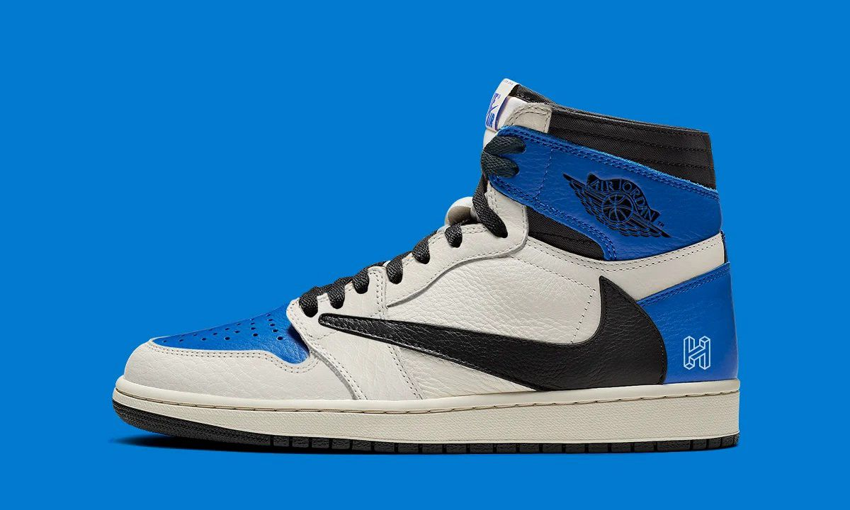 Travis Scott x fragment design x Air Jordan I 实物细节进一步公开