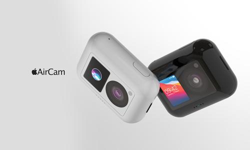 多色可选,苹果或将推出随身相机「AirCam」